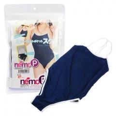 네모P 3개의 시크릿 포켓 학교 수영복(ネモ 3シークレットポケット スク水)