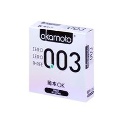 오카모토 003 플래티넘 1박스 3개입(Okamoto 003 Platinum)