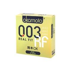 오카모토 003 리얼 핏 1박스 3개입(Okamoto 003 Real Fit)
