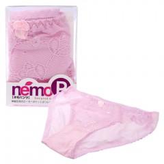 네모P 로터 포켓이 달린 팬티 핑크(ネモ ローターポケット付きショーツピンク)