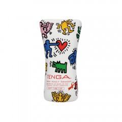 텐가 소프트 튜브 컵 키스 해링 에디션(Tenga Soft Tube Cup Keith Haring Edition)